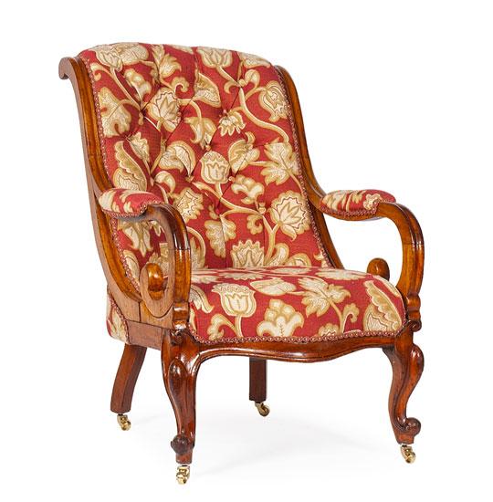 Gentlemans Victorian Armchair